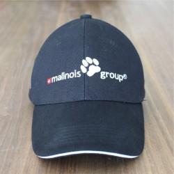 Malinois-Group-Cap Schwarz