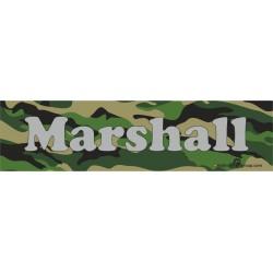 Namensschild für Hundeboxen 280x70mm im Camouflage-Design