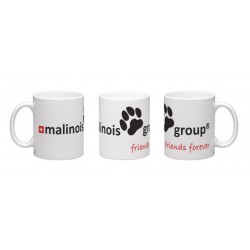 Malinois-Group-Tasse aus Keramik, 340ml